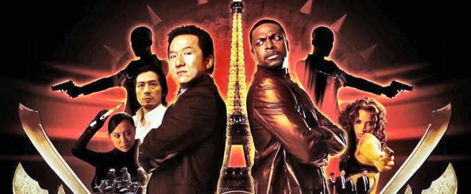 Jackie Chan et Chris Tucker dans Rush Hour 3