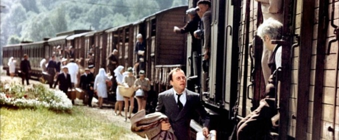 Jean-Louis Trintignant dans Le Train