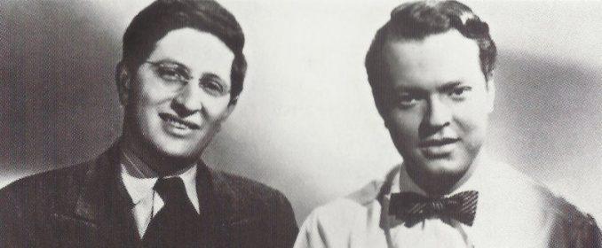 Bernard Herrmann et Orson Welles