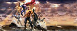 Justice League: Throne Of Atlantis (Frederik Wiedmann) Le trône du roi Arthur