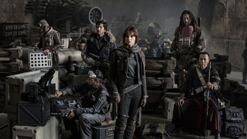 La team Rogue One