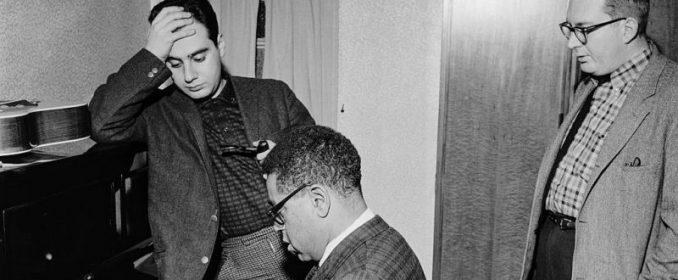 Lalo Schifrin, Dizzy Gillespie et le batteur Mel Lewis dans les années 60