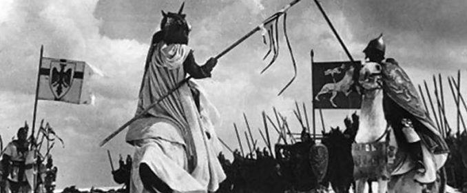 Prince Russe contre Chevalier Teuton