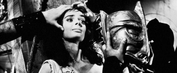 Barbara Steele dans La Maschera del Demonio