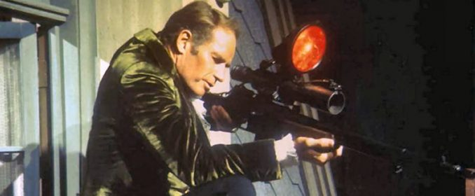 Charlton Heston dans The Omega Man