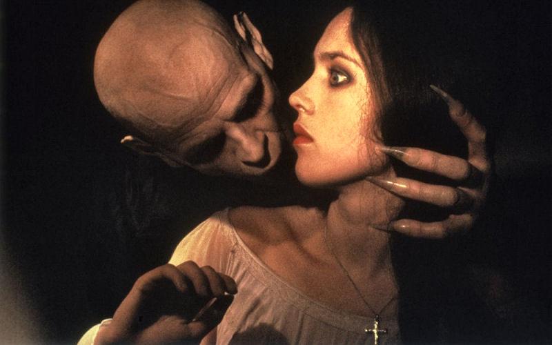 Klaus Kinski et Isabelle Adjani dans Nosferatu