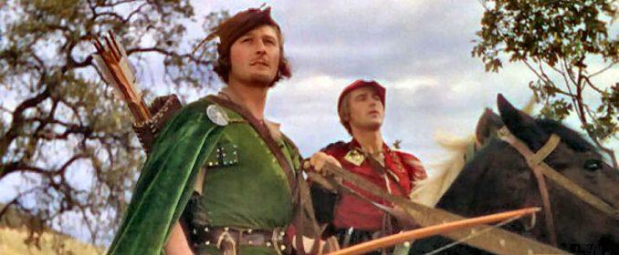 Errol Flynn dans The Adventures Of Robin Hood