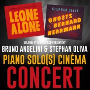 Piano solo(s) : Herrmann et Morricone en toute liberté Le temps d'une soirée? les musiciens Bruno Angelini et Stephan Oliva donneront libre cours à leur inspiration