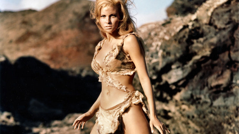Raquel Welch dans One Million Years B.C.