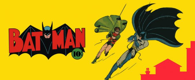Batman (et Robin) par Bob Kane en 1939