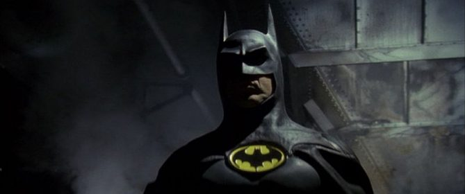Batman (Michael Keaton) en 1989