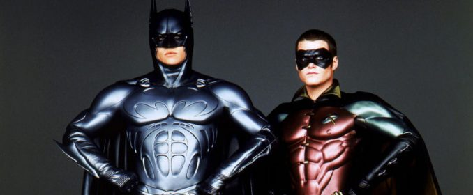 Batman (Val Kilmer) & Robin (Chris O' Donnell) en 1995