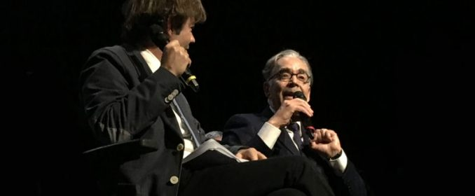 Stéphane Lerouge and Howard Shore at Salle Pleyel