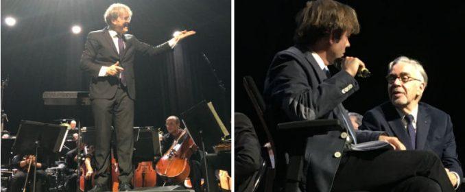 Ludwig Wicki, Stéphane Lerouge et Howard Shore
