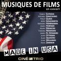 Vers un road trip 100% US en compagnie du Ciné-Trio Les compositeurs américains seront à l'honneur lors du dernier programme de l'année 2017