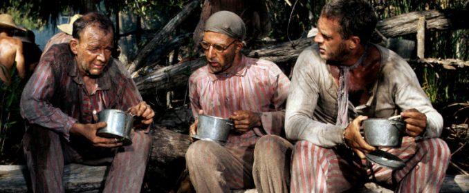 Steve McQueen et Dustin Hoffmann dans Papillon