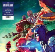 Gagnez le double LP de Justice League par Danny Elfman