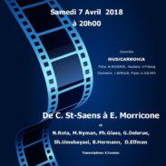 Concert-promenade de l'Ensemble Musicarmonia Le quatuor vous donne à nouveau rendez-vous, le 7 avril prochain, dans le 18ème arrondissement de Paris