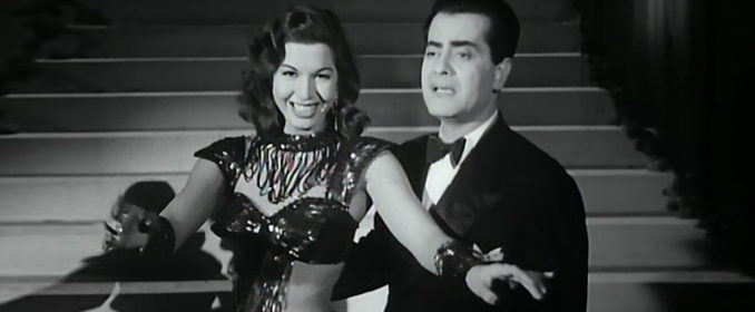 Samia Gamal et Farid al Atrache dans Ne le dis à Personne d'Henri Barakat (1951)