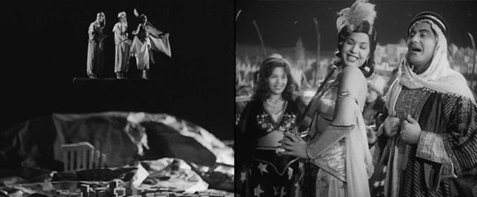 La belle séquence musicale du tapis volant dans Le Dernier Mensonge (1951)