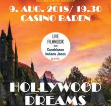 Concert Hollywood Dreams à Baden en août