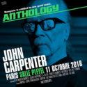 John Carpenter de retour en France en octobre Big John enflammera à nouveau ses nombreux fans, à Paris d'abord mais aussi à La Rochelle
