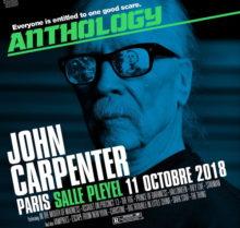 John Carpenter de retour en France en octobre