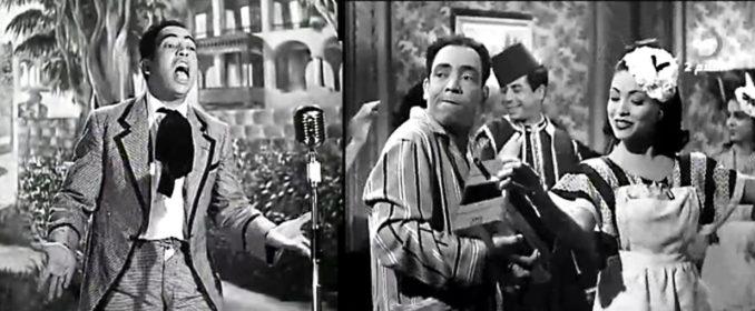 Ismail Yassine dans ses pitreries, et avec Souad Mekaoui dans Le Millionnaire