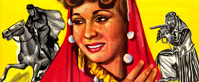 L'affiche du film Sultane du Désert (1947)