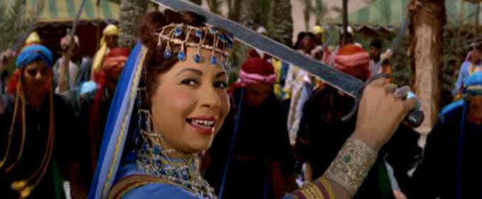 Kouka dans Antar le Prince Noir (1961), interprétant La Fête du Bonheur