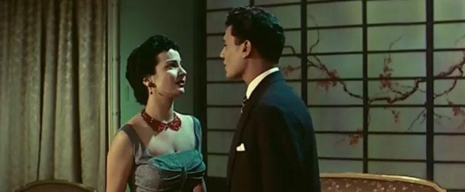 La belle Chadia et Abdel Halim Hafez dans le mélo musical Dalila (1956)