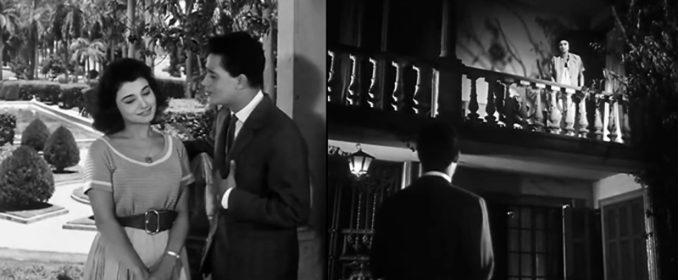 Moharram Fouad et la douce Imane dans La Mélodie du Bonheur (1960)