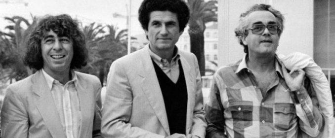Francis Lai, Claude Lelouch et Michel Legrand à Cannes en 1981