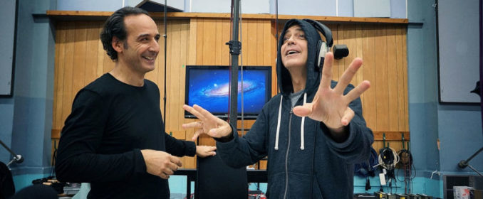 Alexandre Desplat et George Clooney