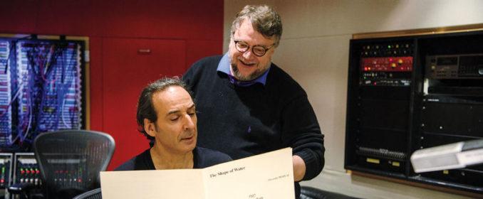 Alexandre Desplat et Guillermo Del Toro
