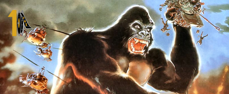 King Kong Lives (John Scott) Le gorille vous salue bien