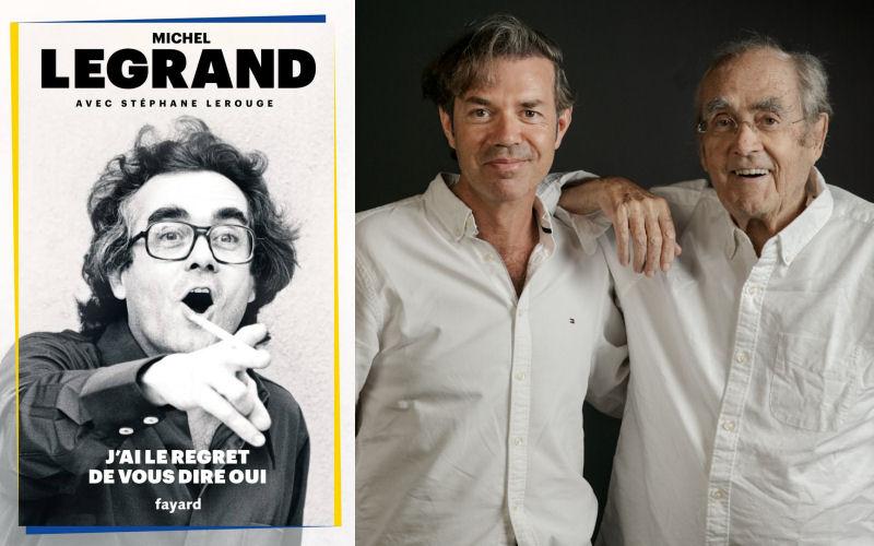 Stéphane Lerouge et Michel Legrand en juin 2018
