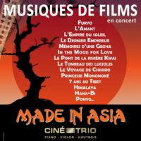 Nouveau voyage à travers l'Asie avec le Ciné-Trio Hisaishi, Williams, Yared, Umebayashi et consorts au programme du prochain concert de la formation
