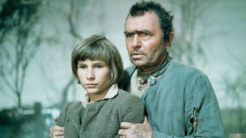 James Mason dans Great Expectations