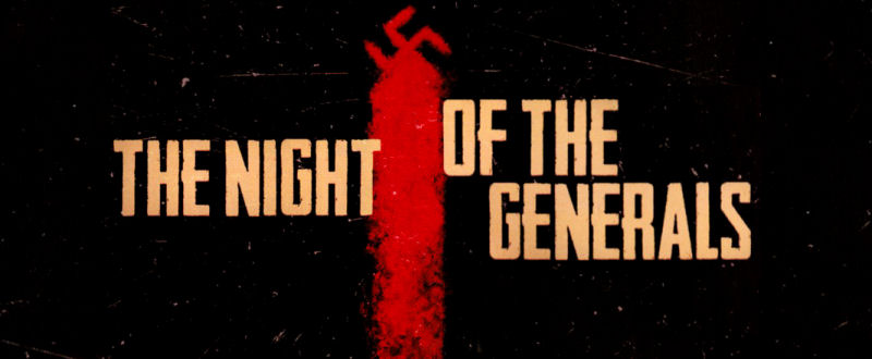 Night Of The Generals (Maurice Jarre)