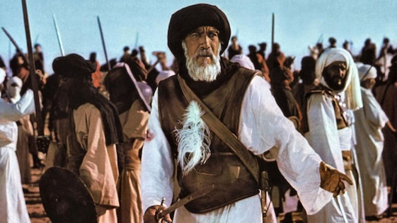 Anthony Quinn dans The Message