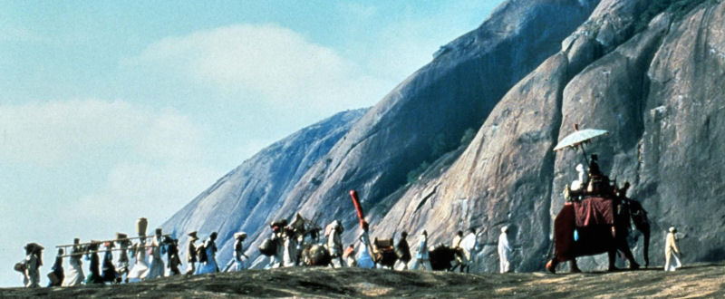 A Passage To India (Maurice Jarre) À Bord du David Lean Limited