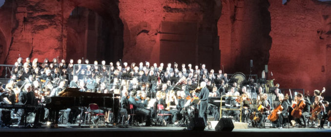 Ennio Morricone aux Thermes de Caracalla