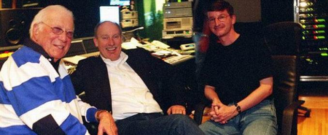 Jerry Goldsmith avec Stuart Baird et Robert Townson