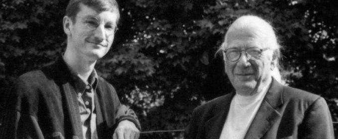 Robert Townson et Jerry Goldsmith au moement des réenregistrements consacrés à Alex North