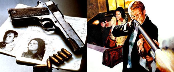 Ali McGraw et Steve McQueen dans The Getaway (1972)