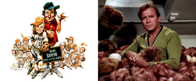 The Bad News Bears (1976) / Star Trek: The Trouble With Tribbles (1967)
