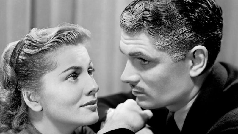 Joan Fontaine et Laurence Olivier