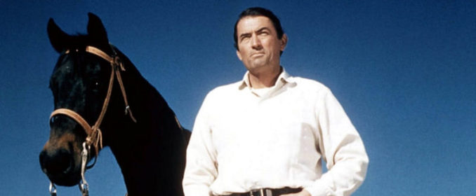 Gregory Peck dans The Big Country