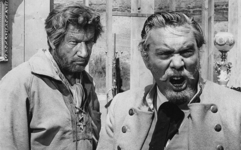 Richard Boone et Edmond O'Brien dans Rio Conchos